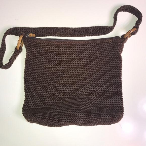 The Sak Handbags - The Sak brown bamboo hand bag